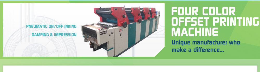 Rotta Print - Four Color Non Woven Bag Printing Machine Manufacturer