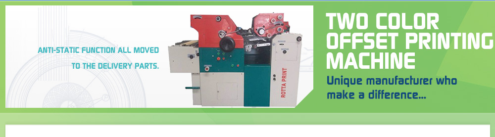 Rotta Print - Two Color Non Woven Bag Printing Machine1