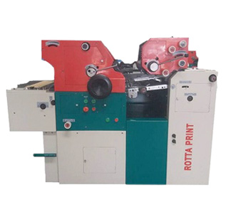 Rotta Print - Two Color Non Woven Bag Printing Machine